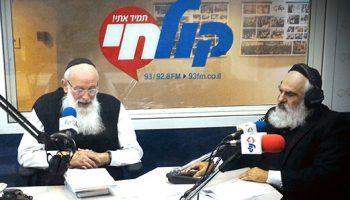 רדיו 'קול חי' עם הרב שמחה כהן שליט''א תשעז 2017
